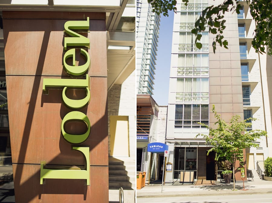 loden hotel vancouver dog friendly