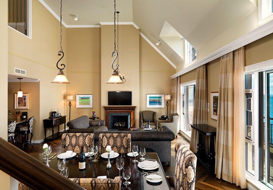 oak bay beach hotel royal penthouse suite