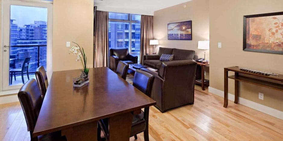 parkside luxury hotel suite victoria bc