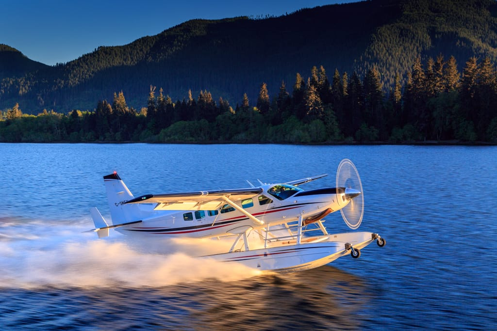 vancouver bc seaplane charter rental