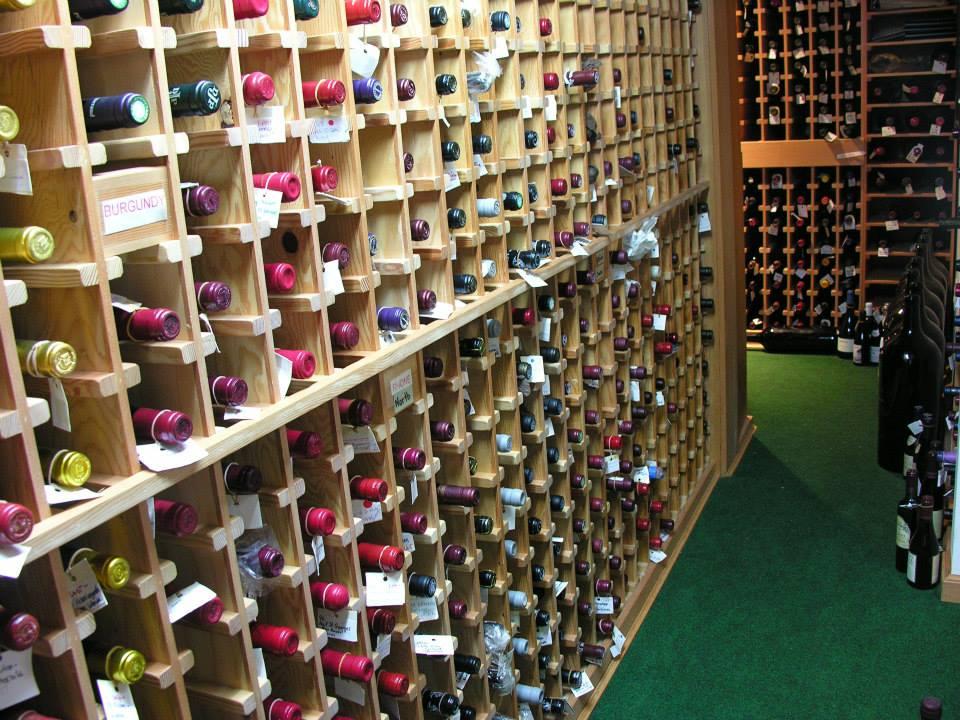 sooke harbour house wine cellar