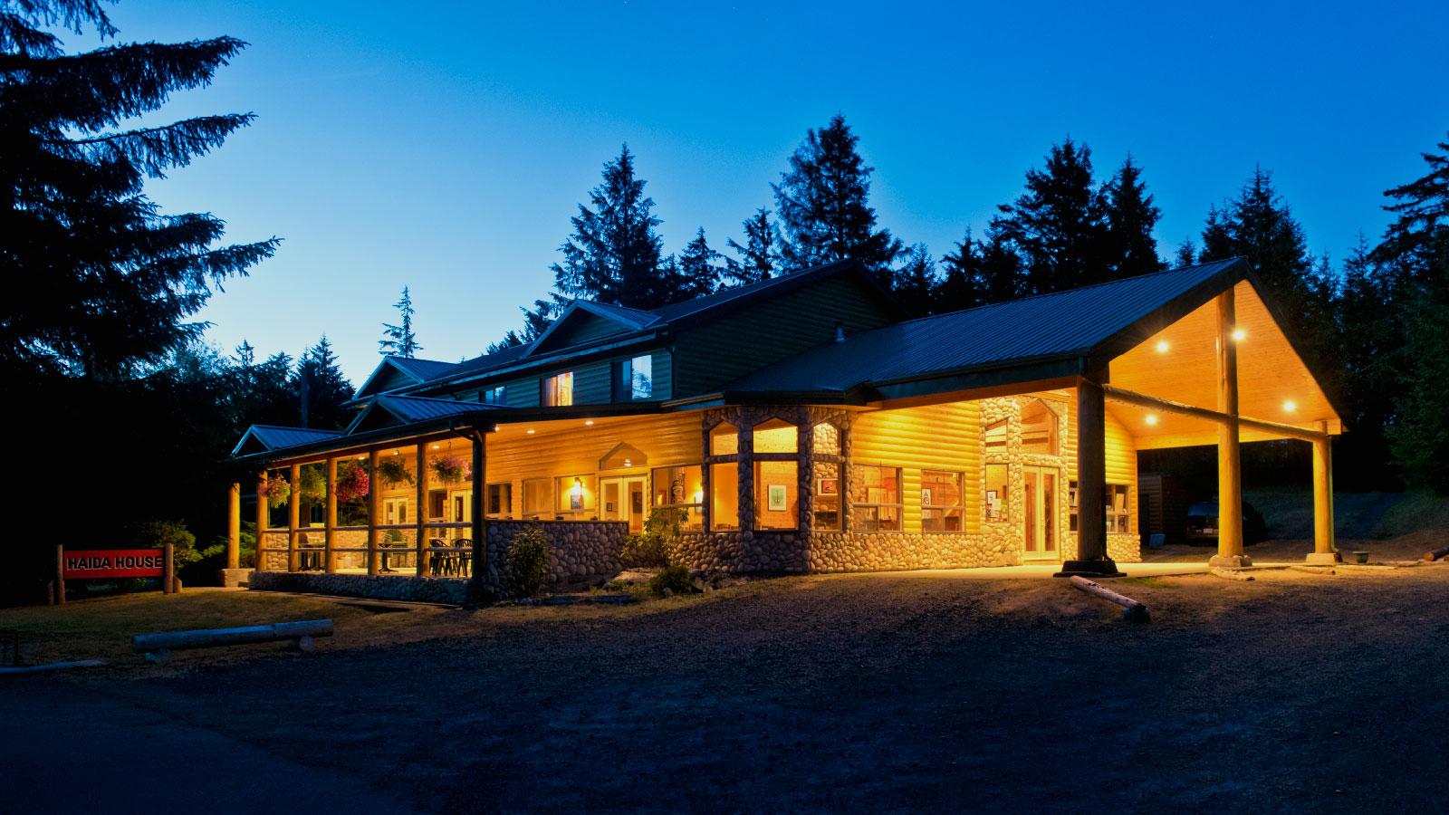 haida house haida gwaii luxury resort 1