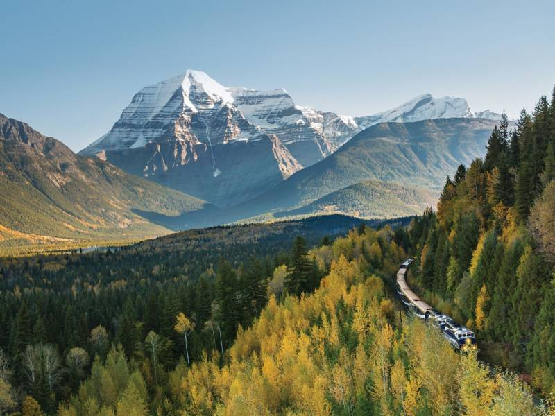 Rocky Mountaineer Canadian Rockies Vacation