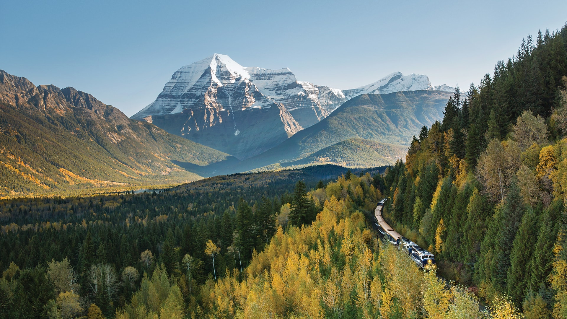 Canadian Rockies Luxury Train Trip For Fall 2019